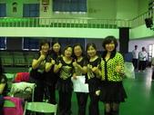 南屯區舞蹈聯誼會:與主辦單位的主持人合影