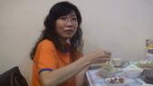 兩周年聯誼餐會:怎麼吃都不胖的蔡美女(嗚..嗚..嗚..真是羨慕)