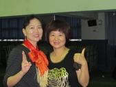 南屯區舞蹈聯誼會:兩位美女喔!感謝潘老師的帶領
