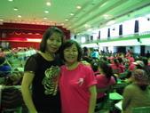 南屯區舞蹈聯誼會:巧遇美華的姊姊也有參加,姊妹長得還真像