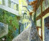 手繪創作:油畫-Zurich-990914-2-s