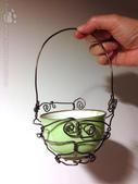 手繪創作:AppleBear-鋁線DIY (2)