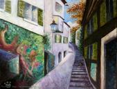 手繪創作:油畫-Zurich-991005-s