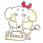 手繪創作:Dog-France