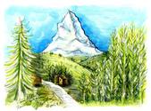 手繪創作:Matterhorn-4-s.jpg