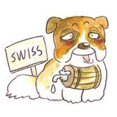 手繪創作:Dog-Swiss