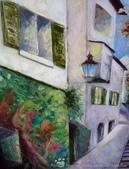 手繪創作:油畫-Zurich-991005-3s