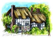 手繪創作:Anne Cottage-A4-ss