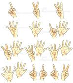手繪創作:1-12 Finger-s