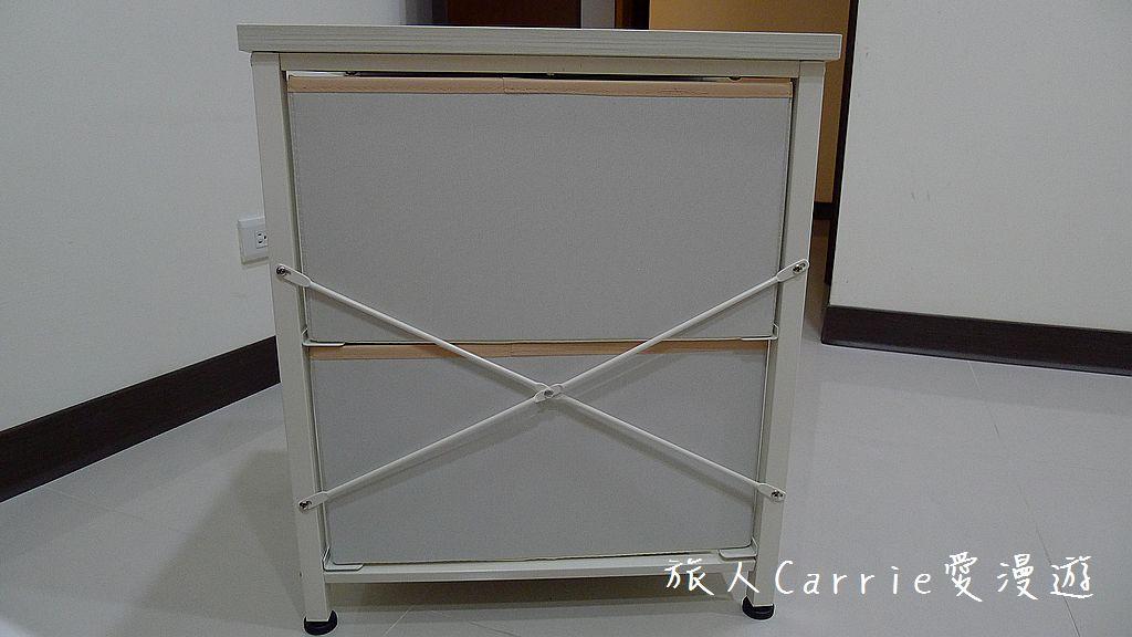 波利二層抽屜收納櫃 粉色 一款實用指數高又大方順眼的抽屜收納櫃:P1620250.jpg