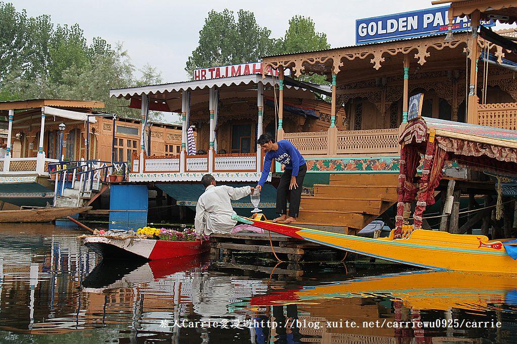 【喀什米爾Kashmir】印度India‧斯里那加Srinagar‧達爾湖Dal Lake~水上市場:IMG_0490.jpg