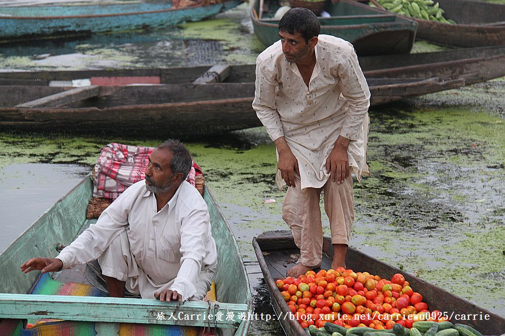 【喀什米爾Kashmir】印度India‧斯里那加Srinagar‧達爾湖Dal Lake~水上市場:IMG_0216.jpg