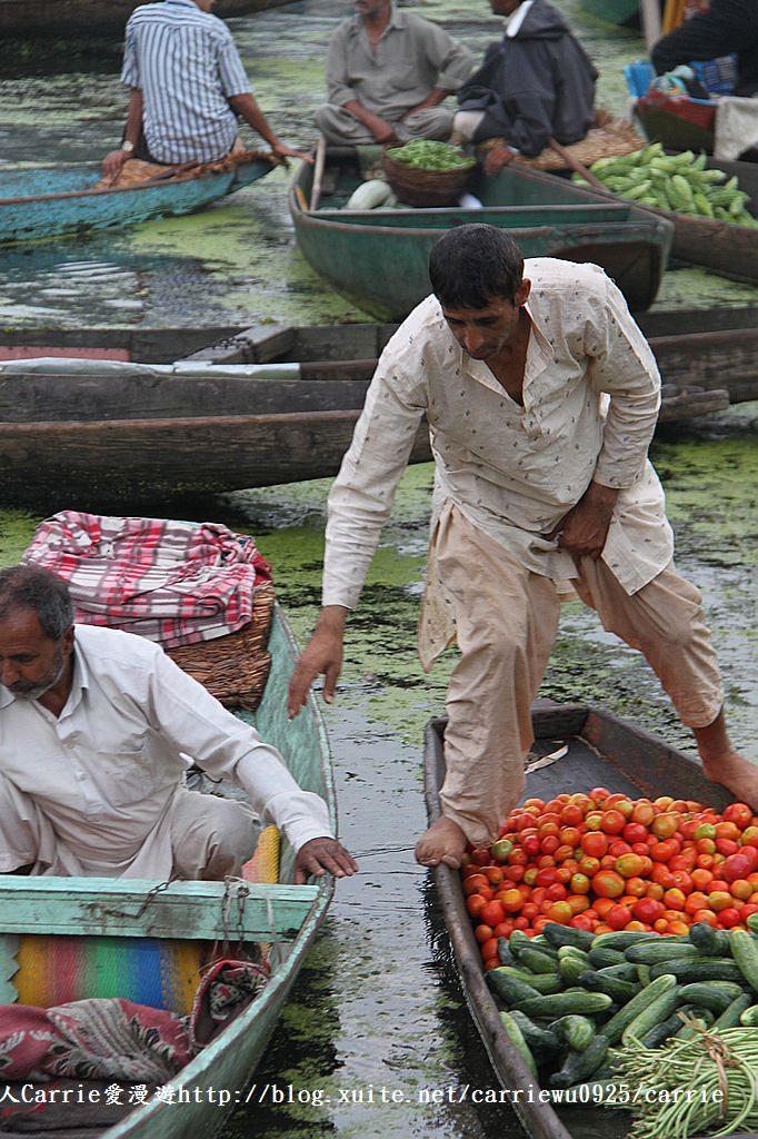 【喀什米爾Kashmir】印度India‧斯里那加Srinagar‧達爾湖Dal Lake~水上市場:IMG_0217.jpg