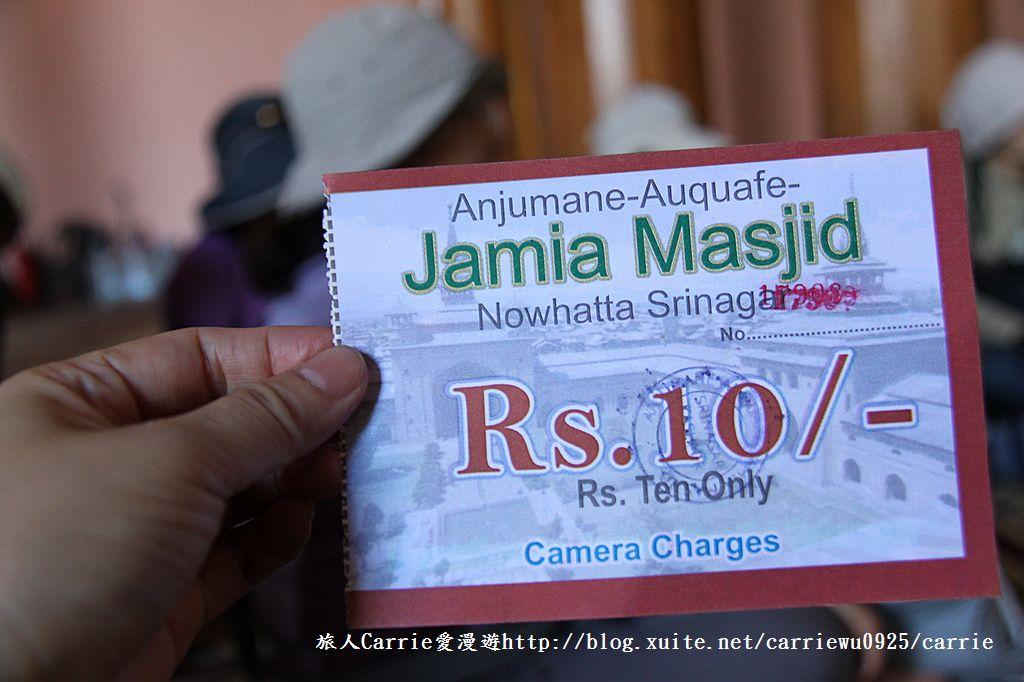 【喀什米爾Kashmir】斯里那加Srinagar‧Jamia Masjid清真寺~舊城區印度哥德風:13IMG_8347.jpg