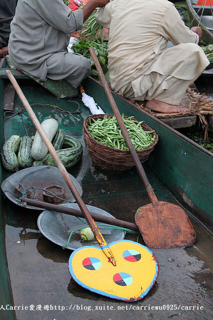 【喀什米爾Kashmir】印度India‧斯里那加Srinagar‧達爾湖Dal Lake~水上市場:IMG_0089.jpg