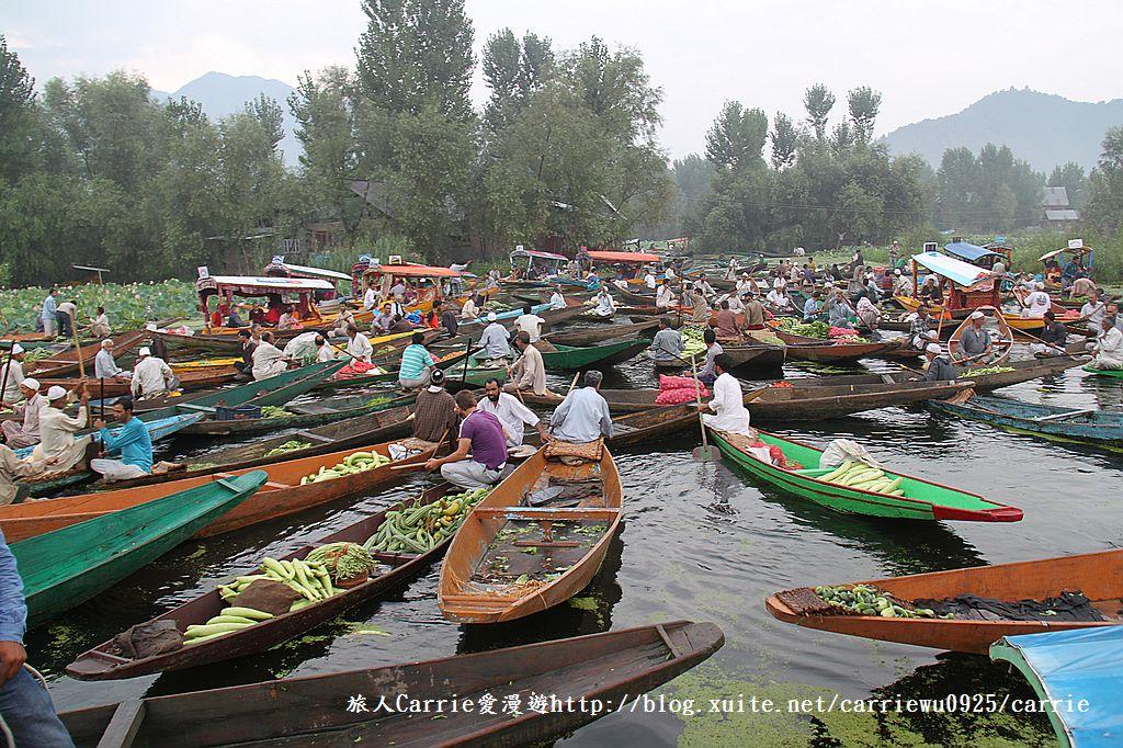 【喀什米爾Kashmir】印度India‧斯里那加Srinagar‧達爾湖Dal Lake~水上市場:IMG_0224.jpg
