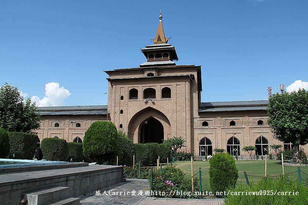 【喀什米爾Kashmir】斯里那加Srinagar‧Jamia Masjid清真寺~舊城區印度哥德風:IMG_8396.jpg