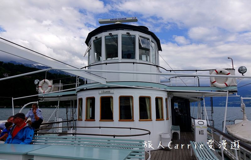 施皮茨(Spiez)搭乘「懷舊輪槳蒸氣船」暢遊圖恩湖(Thunersee)‧奧伯霍芬城堡(Oberh:DSC09765.jpg