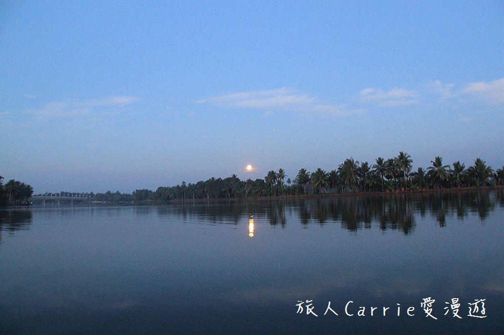 【南印喀拉拉】阿勒皮Alleppey~迴水區Backwater清晨盪小舟送明月迎朝陽:IMG_9088.jpg