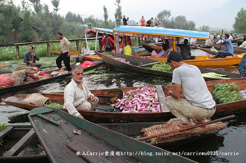 【喀什米爾Kashmir】印度India‧斯里那加Srinagar‧達爾湖Dal Lake~水上市場:IMG_0093.jpg