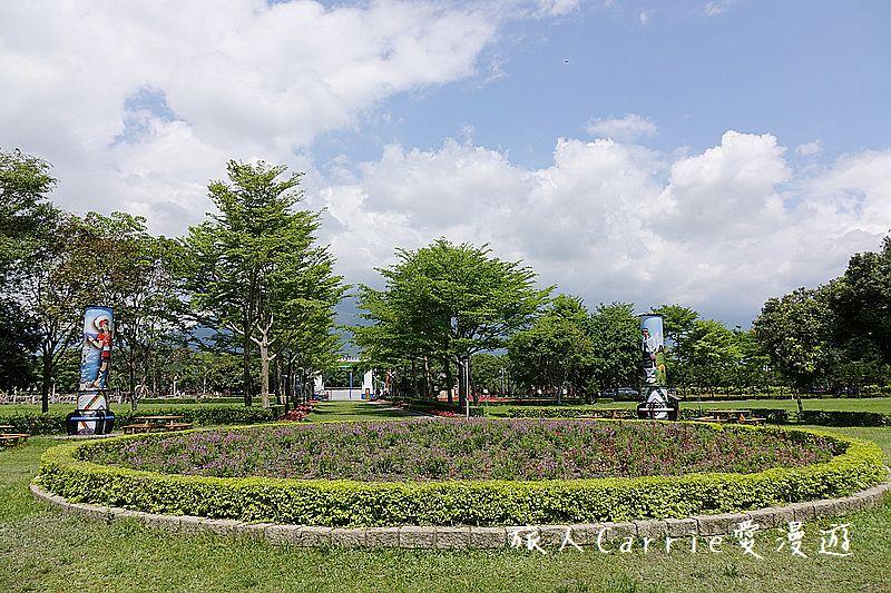 知卡宣森林公園【花蓮吉安旅遊】~日治時期空軍基地變身為休閒教育功能兼具的童話公園: