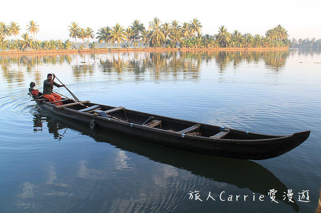 【南印喀拉拉】阿勒皮Alleppey~迴水區Backwater清晨盪小舟送明月迎朝陽:IMG_9372.jpg