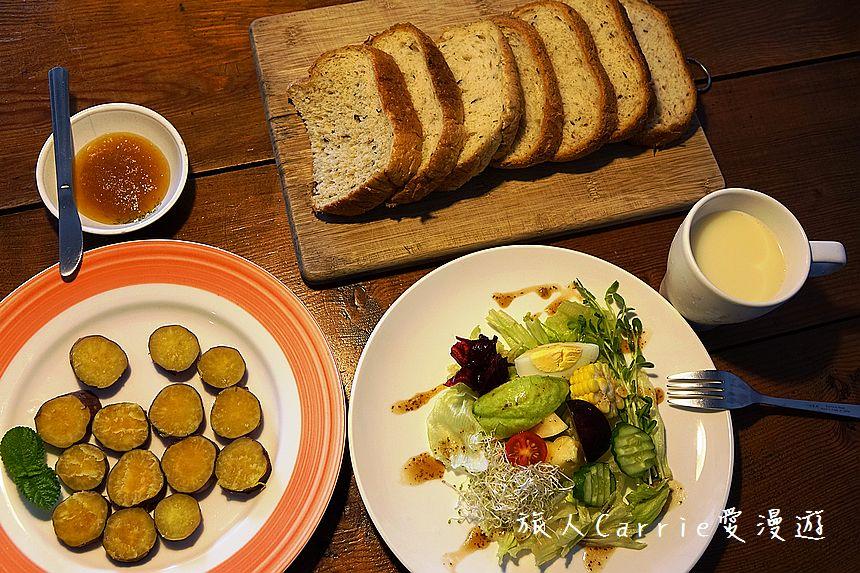 【花蓮住宿】柚子家~近花蓮東大門國際觀光夜市‧寵物友好民宿‧家的感覺滿點‧新鮮現做健康美味早餐: