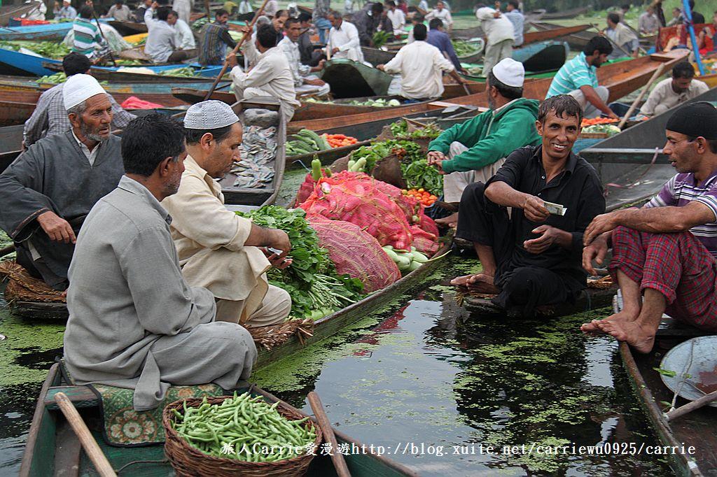 【喀什米爾Kashmir】印度India‧斯里那加Srinagar‧達爾湖Dal Lake~水上市場:IMG_0121.jpg