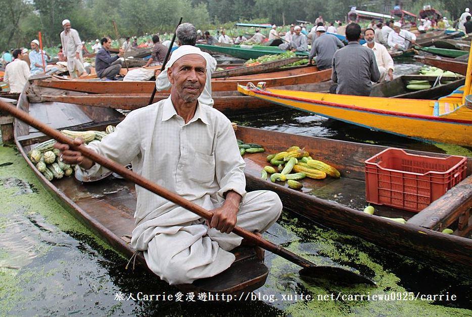 【喀什米爾Kashmir】印度India‧斯里那加Srinagar‧達爾湖Dal Lake~水上市場:IMG_0270.jpg