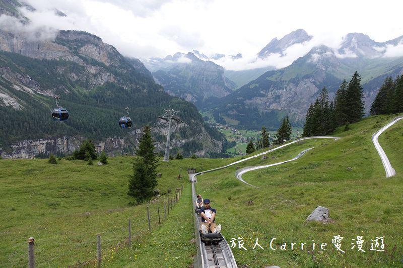 瑞士厄希嫩湖/ 歐能辛湖(Oeschinensee)~在世界自然遺產搭纜車玩滑梯健行趣【瑞士旅遊】:DSC07989.jpg