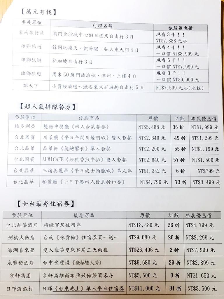 【2016台北國際旅展】11/4~11/7 台北世貿中心‧預購票享優惠180元‧ITF30週年 看展:S__4284450.jpg