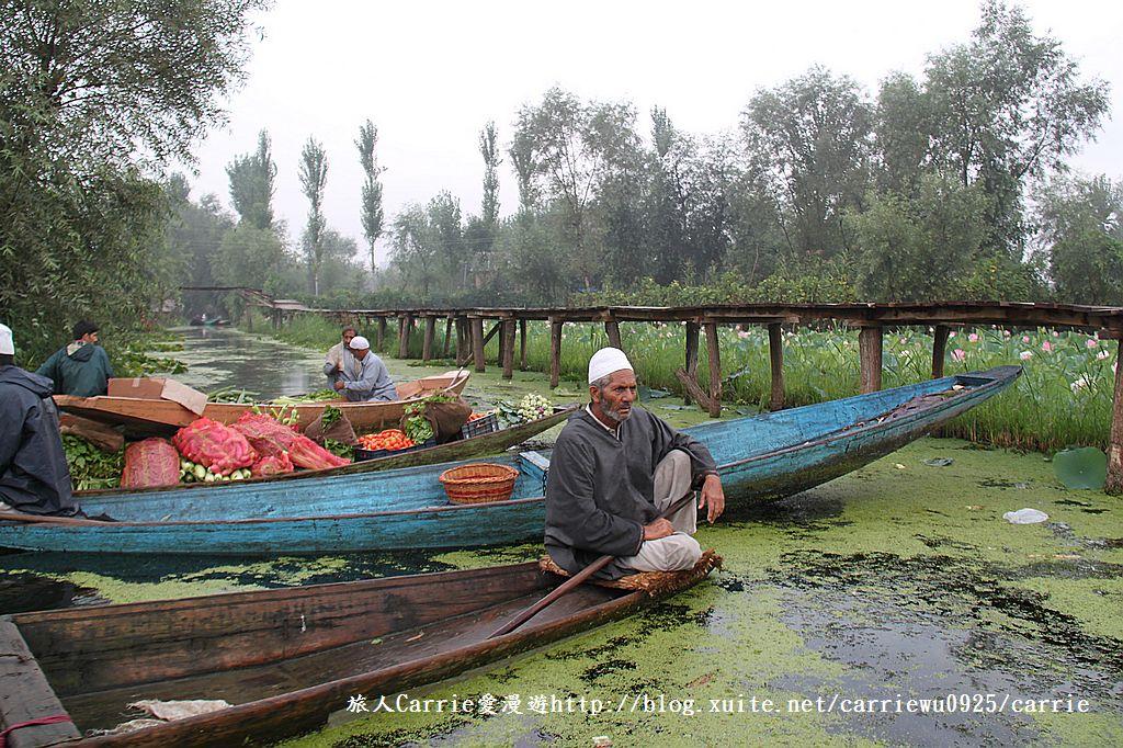 【喀什米爾Kashmir】印度India‧斯里那加Srinagar‧達爾湖Dal Lake~水上市場:IMG_0279.jpg