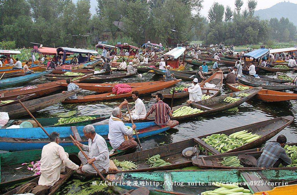 【喀什米爾Kashmir】印度India‧斯里那加Srinagar‧達爾湖Dal Lake~水上市場:01IMG_0147.jpg