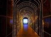 【展覽】老夫子50時空叮叮車~到台北松山文創園區搭乘叮叮車穿越時光隧道進入漫畫場景:05P1350446.jpg