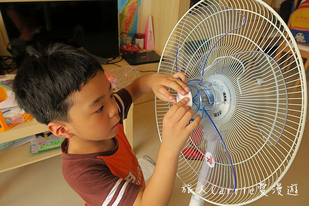 【居家】聲寶16吋星鑽型遙控立扇SK-FT16R~節能減碳 過個健康舒適的涼夏:IMG_4753.jpg