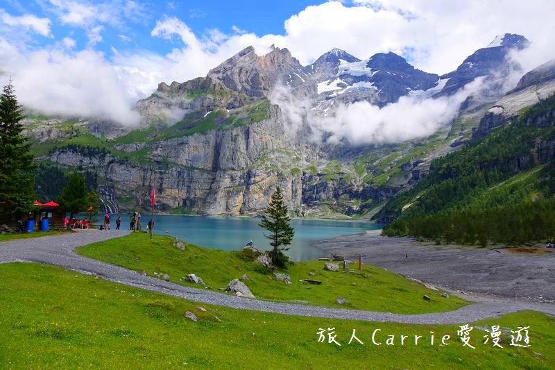 瑞士厄希嫩湖/ 歐能辛湖(Oeschinensee)~在世界自然遺產搭纜車玩滑梯健行趣【瑞士旅遊】:03DSC07948.jpg