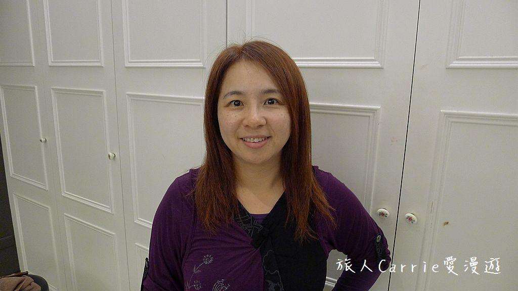 【台北大安】台北東區 M:激賞髮型~高超染護剪將白髮變身亮橘絲滑有型:P1540208.jpg