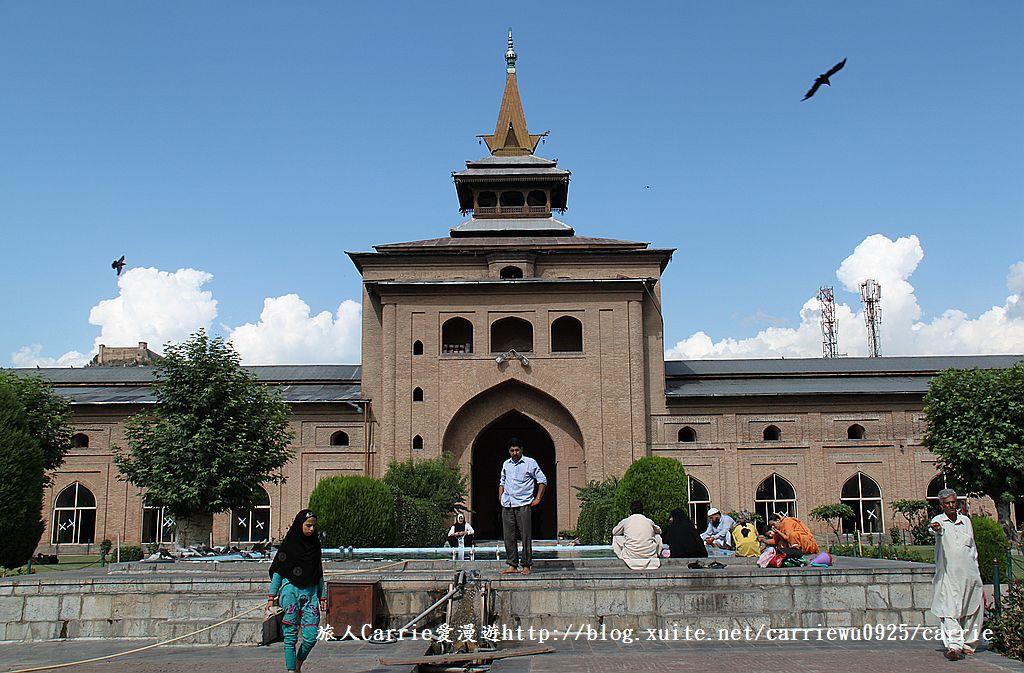 【喀什米爾Kashmir】斯里那加Srinagar‧Jamia Masjid清真寺~舊城區印度哥德風:01IMG_8388.jpg