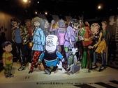 【展覽】老夫子50時空叮叮車~到台北松山文創園區搭乘叮叮車穿越時光隧道進入漫畫場景:10P1350453.jpg