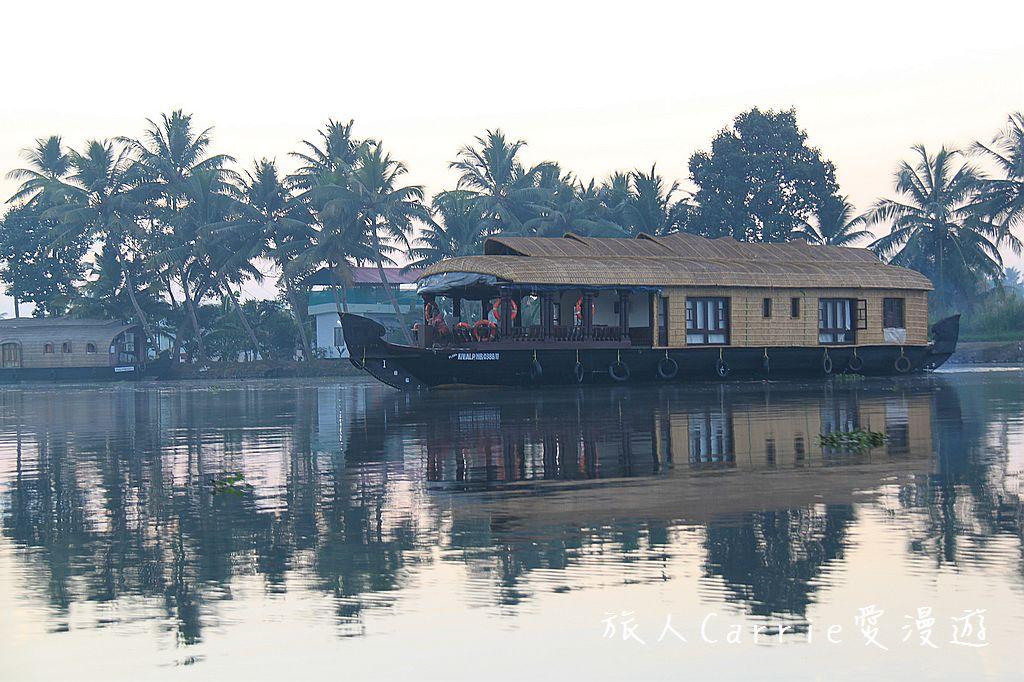 【南印喀拉拉】阿勒皮Alleppey~迴水區Backwater清晨盪小舟送明月迎朝陽:IMG_9300.jpg