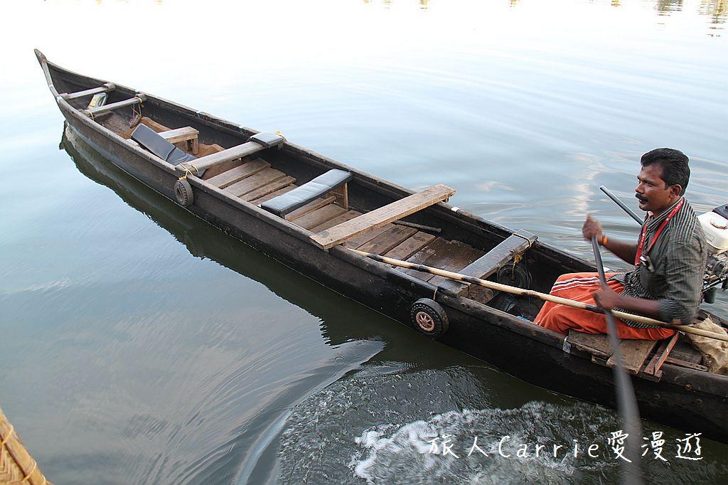 【南印喀拉拉】阿勒皮Alleppey~迴水區Backwater清晨盪小舟送明月迎朝陽:IMG_9361.jpg