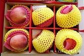 【水果團購宅配】果夏GrowShop~加州空運水蜜桃禮盒‧韓國園黃梨加智利富士蘋果禮盒‧超甜新鮮低溫: