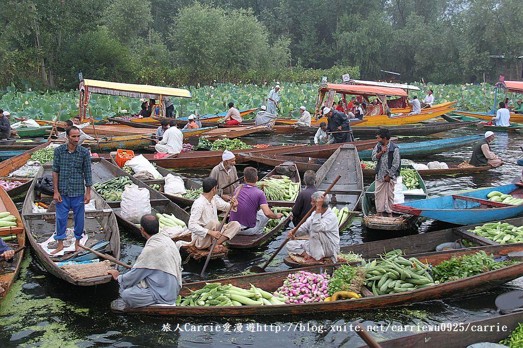 【喀什米爾Kashmir】印度India‧斯里那加Srinagar‧達爾湖Dal Lake~水上市場:IMG_0157.jpg