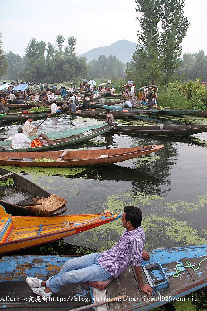 【喀什米爾Kashmir】印度India‧斯里那加Srinagar‧達爾湖Dal Lake~水上市場:IMG_0175.jpg