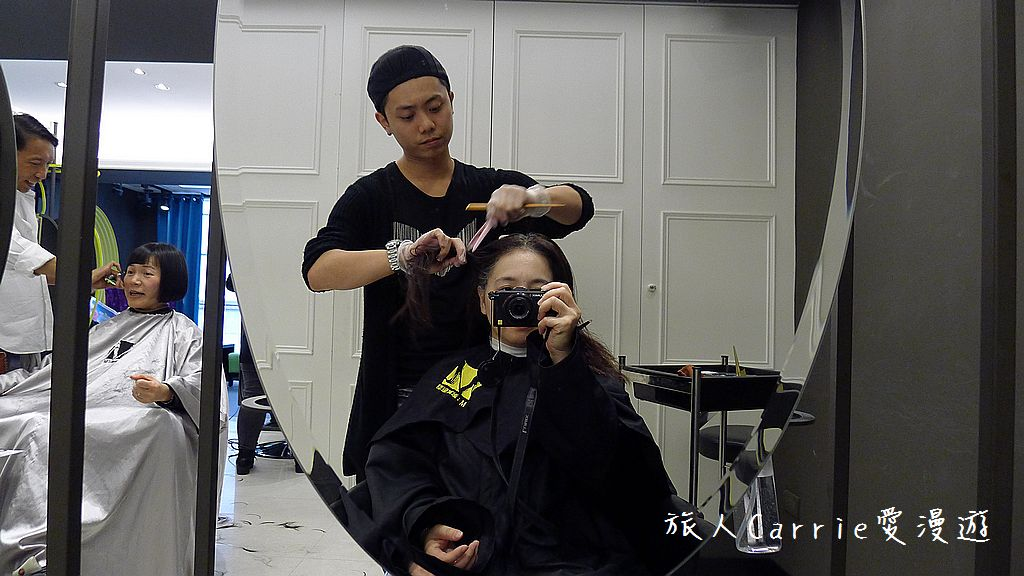 【台北大安】台北東區 M:激賞髮型~高超染護剪將白髮變身亮橘絲滑有型:P1540151.jpg