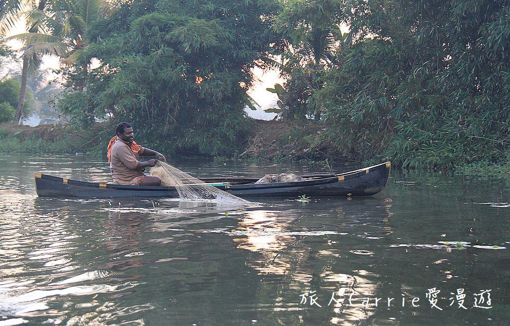 【南印喀拉拉】阿勒皮Alleppey~迴水區Backwater清晨盪小舟送明月迎朝陽:IMG_9222.jpg