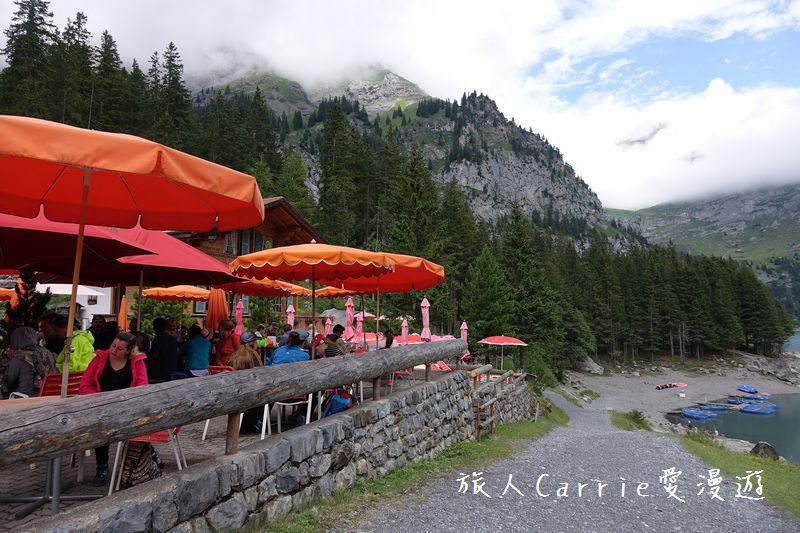 瑞士厄希嫩湖/ 歐能辛湖(Oeschinensee)~在世界自然遺產搭纜車玩滑梯健行趣【瑞士旅遊】:DSC07915.jpg
