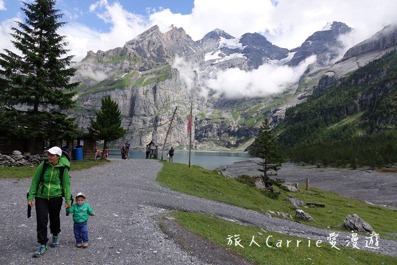 瑞士厄希嫩湖/ 歐能辛湖(Oeschinensee)~在世界自然遺產搭纜車玩滑梯健行趣【瑞士旅遊】:DSC07944.jpg
