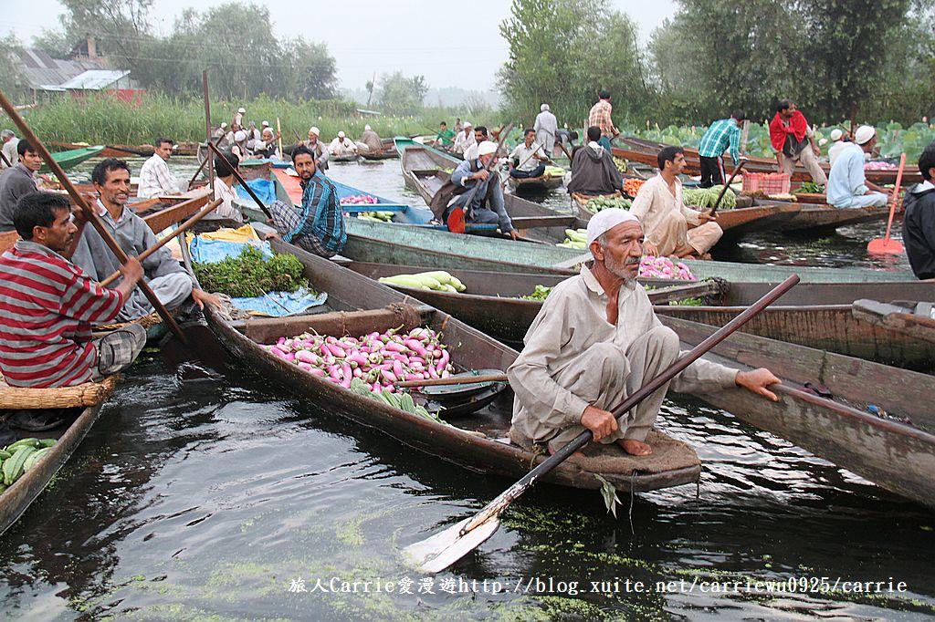 【喀什米爾Kashmir】印度India‧斯里那加Srinagar‧達爾湖Dal Lake~水上市場:IMG_0050.jpg