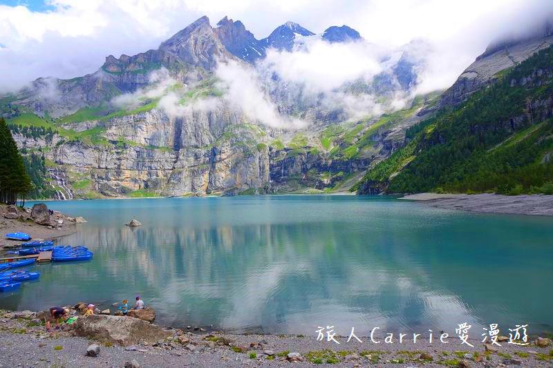 瑞士厄希嫩湖/ 歐能辛湖(Oeschinensee)~在世界自然遺產搭纜車玩滑梯健行趣【瑞士旅遊】:01DSC07921.jpg
